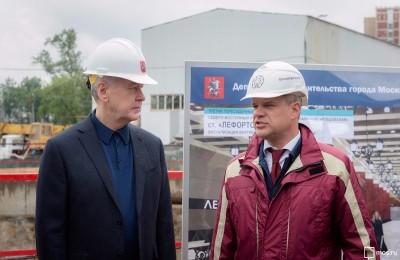 Собянин рассказал о строительстве Третьего пересадочного контура