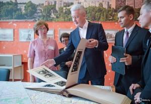 Собянин открыл Дворец культуры имени И. Астахова