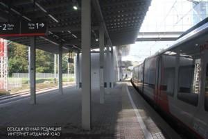 """Станция МЦК """"Крымская"""""""