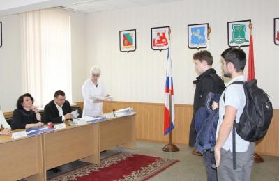 Заседание призывной комиссии Нагорного района