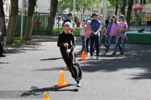 Детский праздник в Нагорном районе