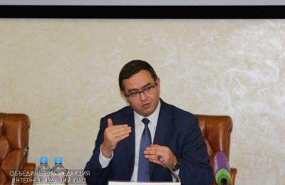 Заместитель руководителя столичного Департамента труда и социальной защиты населения Андрей Бесштанько.