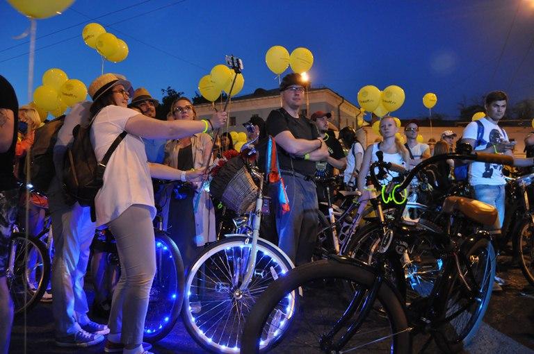 Третий Ночной Велопарад пройдет в столицеРФ