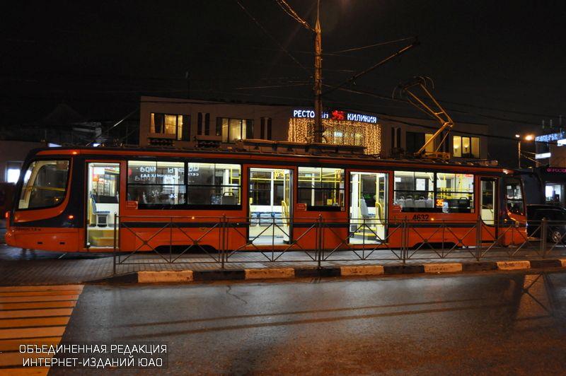 Ночной трамвай в ЮАО