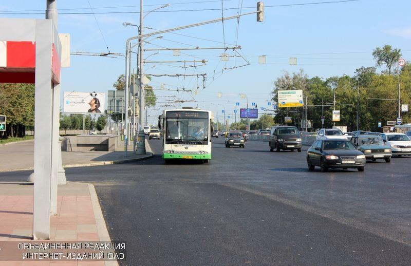 Автобус в ЮАО