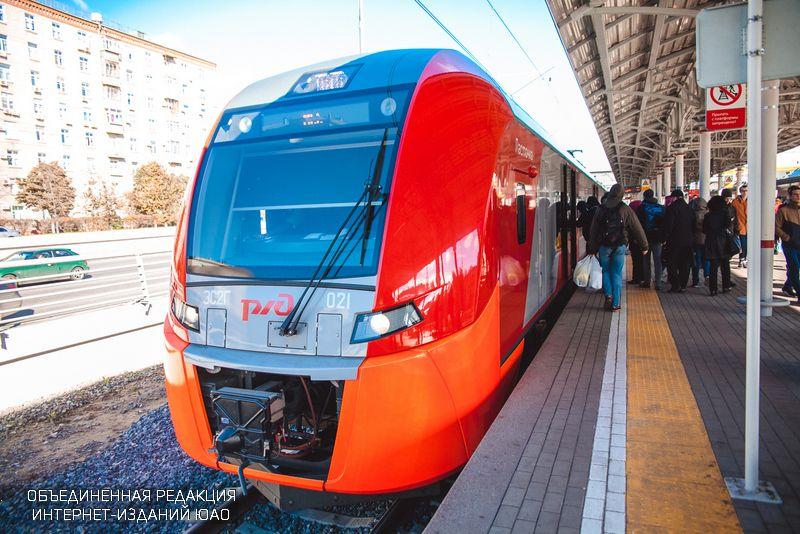 """Поезд """"Ласточка"""" на МЦК"""