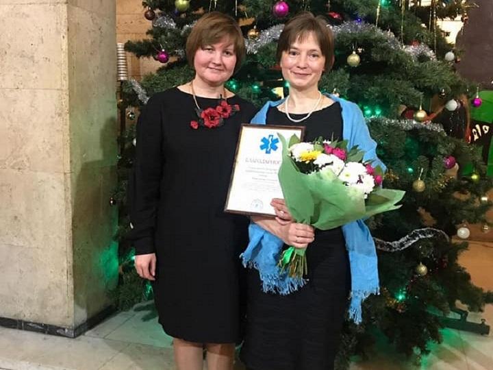 Депутата Наталию Жарикову поздравили с Новым годом