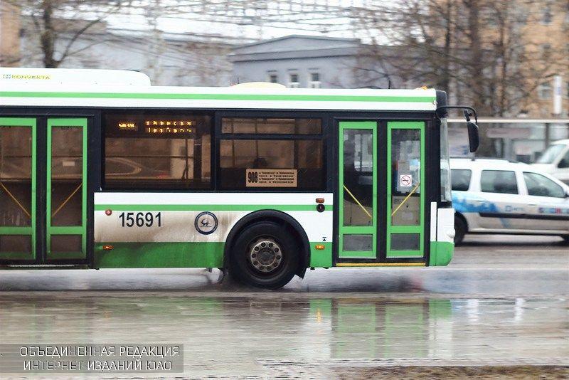 Автобус на Нахимовском проспекте