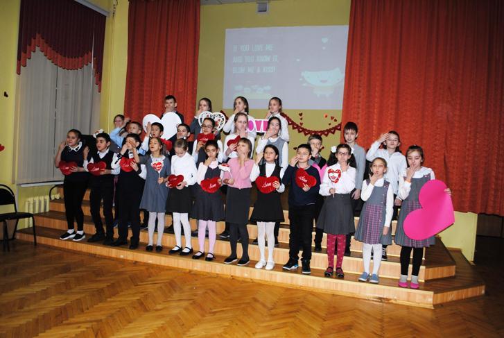 На концерте в школе №504