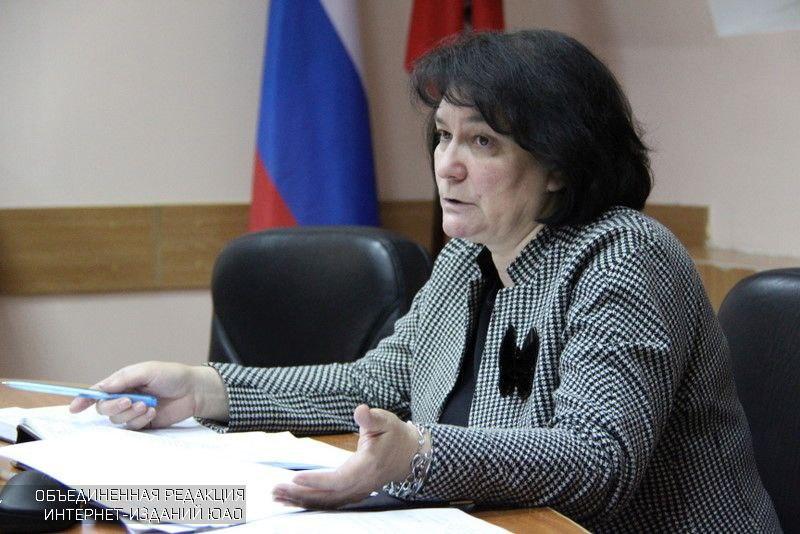 Глава муниципального округа Наталья Медведева