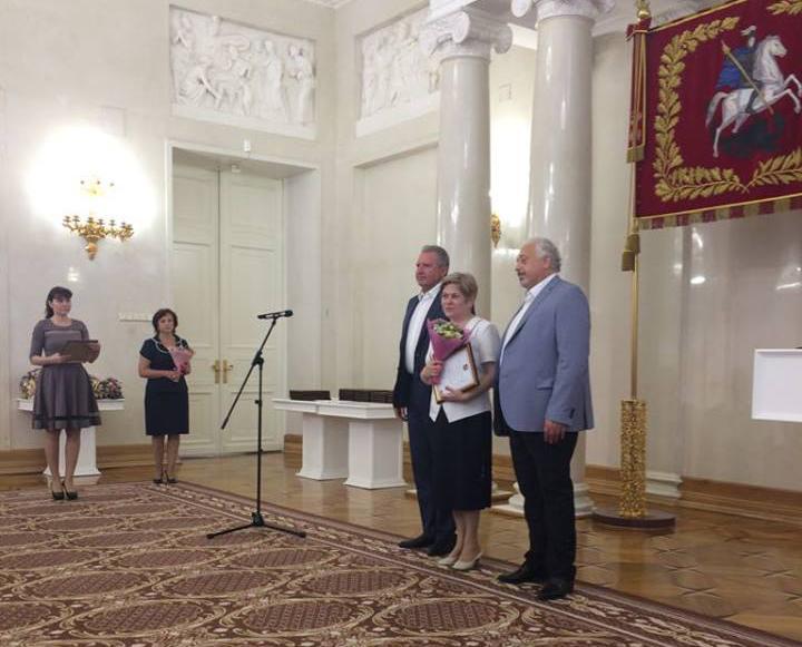 Сотрудница поликлиники №2 получила благодарность мэра Москвы