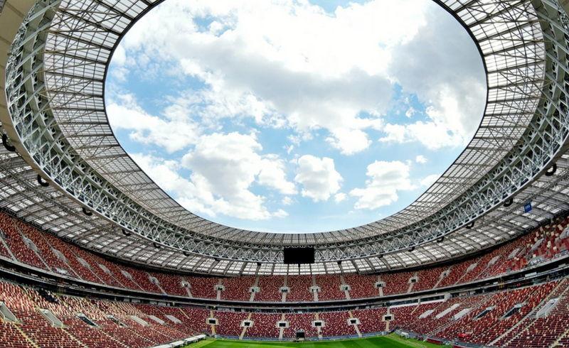 Чемпионат мира по футболу стартовал в России